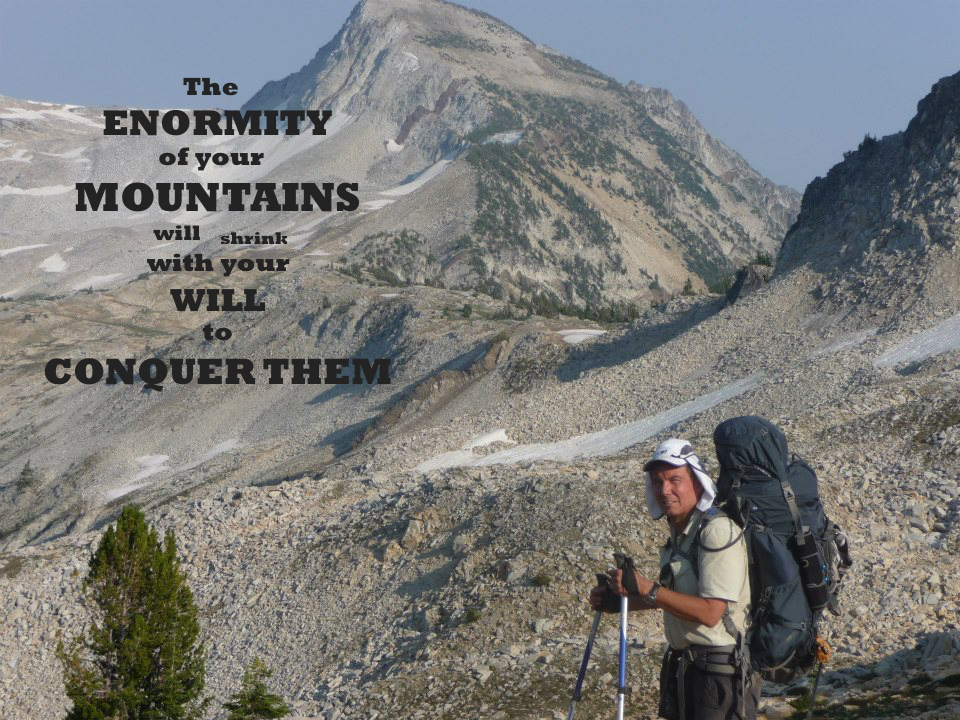 Terry Fossum Enormity of your Mountains